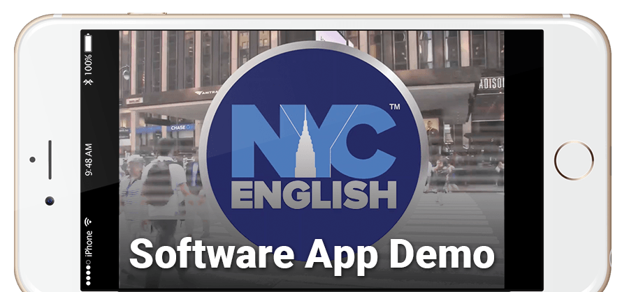 NYC English Software App demo